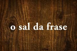 exercício nº 2: uma classe de palavra salgada