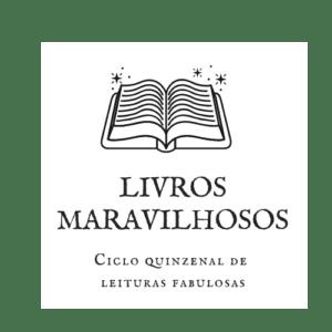 Icone de um livro aberto, e abaixo o titlo Livros Maravilhosos